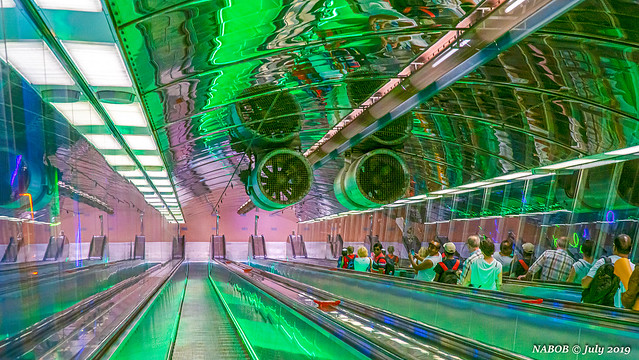 Helsinki, Finland: University of Helsinki metro station - Opened 1982
