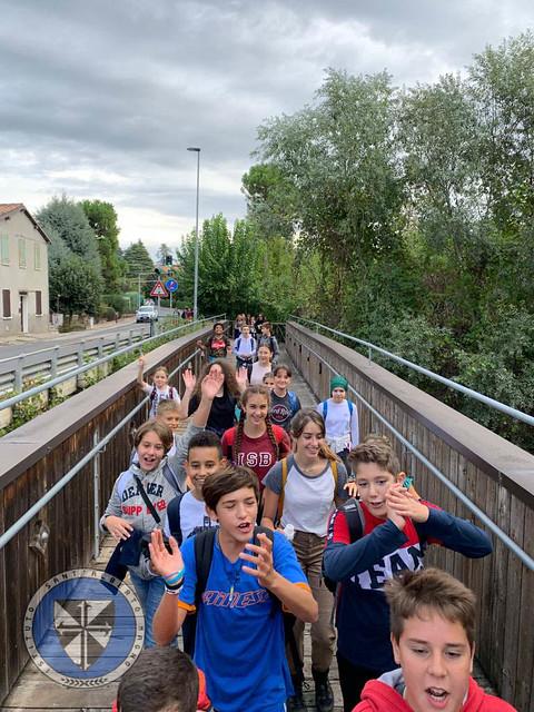 Uscita trekking Scuola Media - parco dei gessi