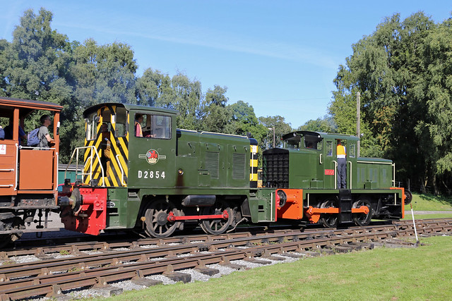 Class 02 D2854 Rowsley South