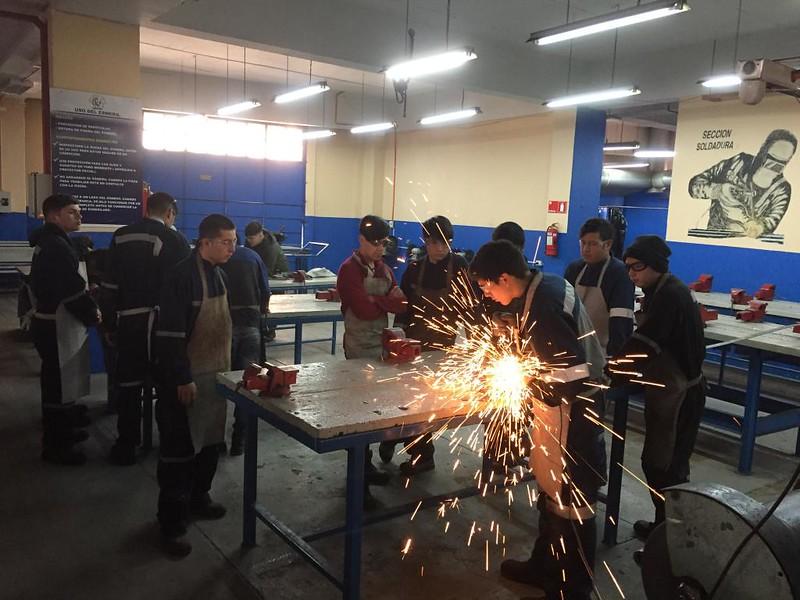 Escuela Abierta 2019, Soldadura, Biomédica, Computación