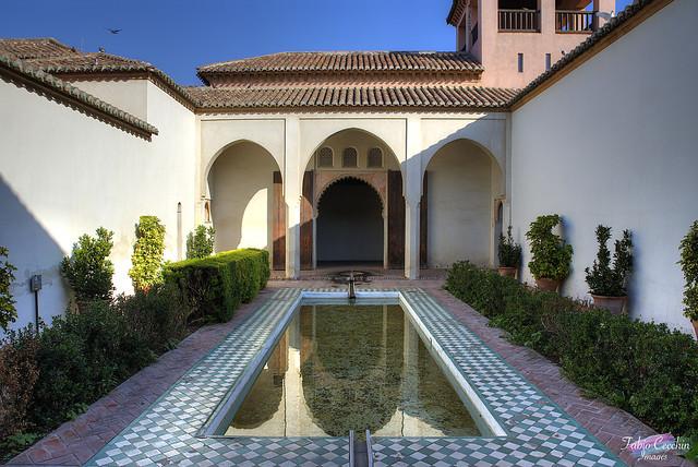 Alcazaba Malaga.