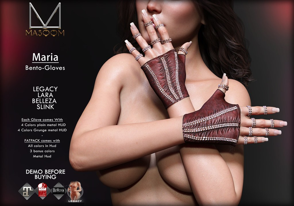 [[ Masoom ]] Maria Gloves @ Kinky