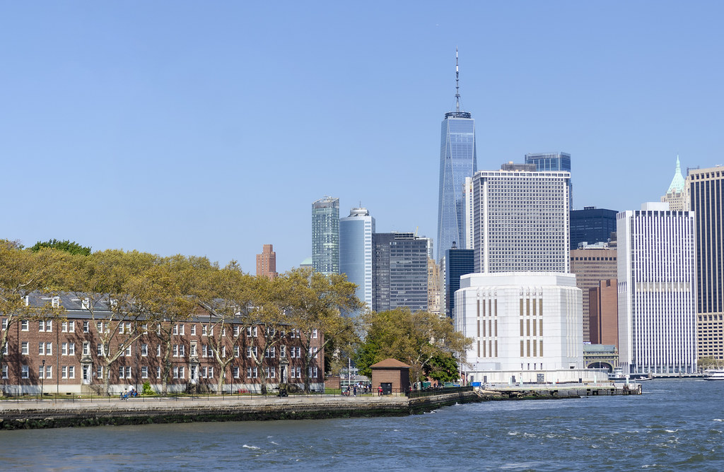 Governors Island Off Manhattan