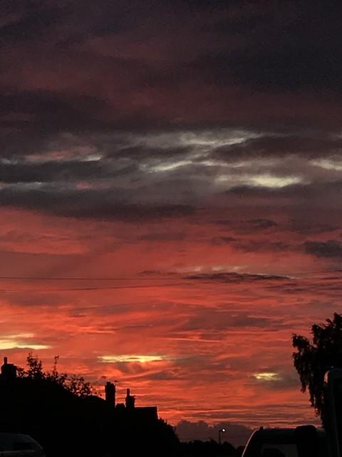 What a beautiful #sunrise