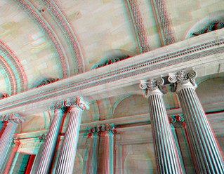 Entrance Cour Carrée Louvre Paris 3D