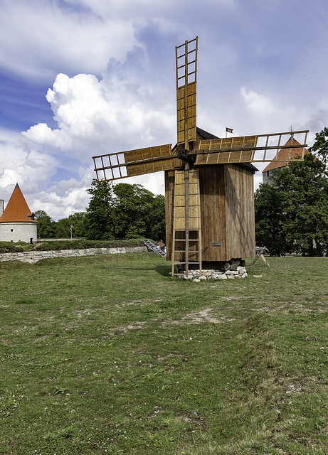 The Post Mill of Kuressaare Castle