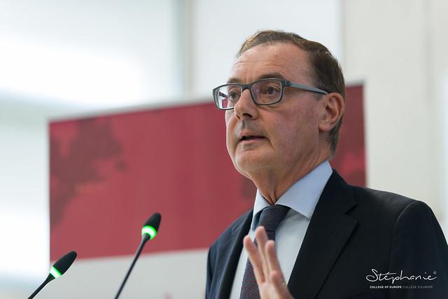 High-Level Lecture by Mr David O'SULLIVAN, Former EU Ambassador to the US.26 September 2019