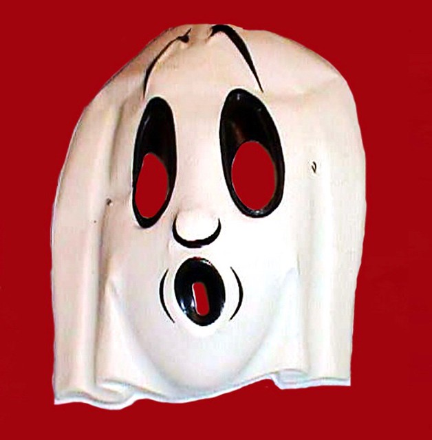 Halloween Masks Booooo Ghost 6263A