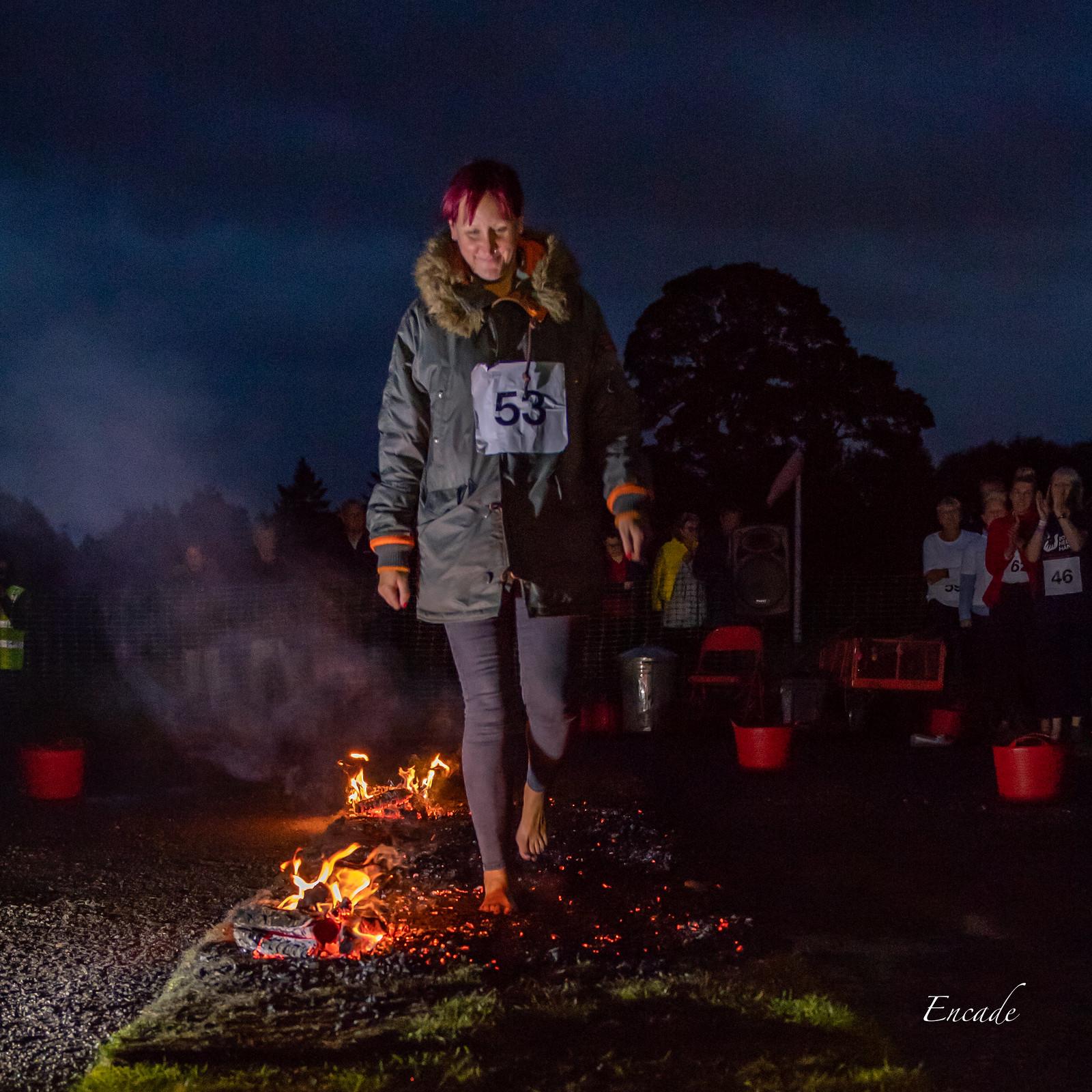 Buster's Charity Firewalk 2019