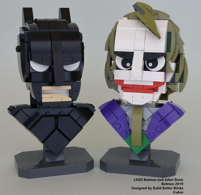 LEGO The Dark Knight Bust Collection