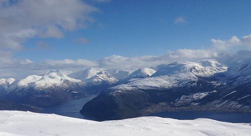Nordfjord Sneeuwschoentocht