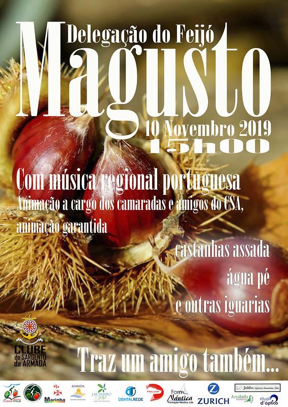 Cartaz Magusto 2019