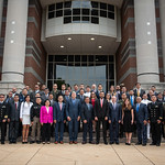 Lu, 09/16/2019 - 11:38 - Perry Center portraits and group photo for the Defence Governance and Cyber Policy Devlopment classes. Taken in studio and on the Marshall Hall step on Monday, September 16, 2019.