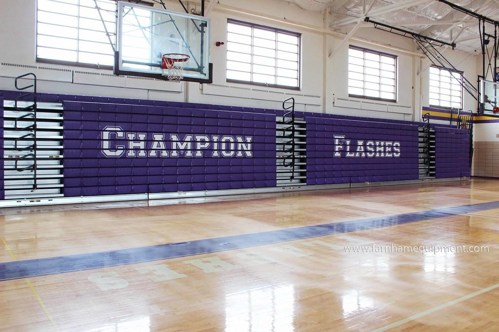 Champion Local Schools | High School Bleacher Replacement