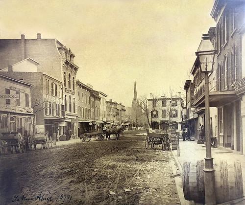 Peekskill Main St. 1874