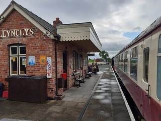 Llynclys Cambrian Heritage Railway Station