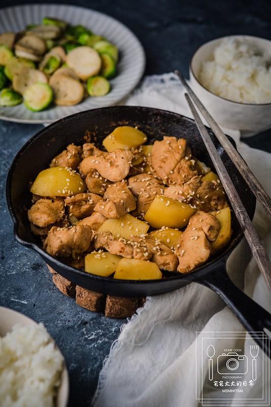 宅宅太太,料理食譜,雞肉料理,馬鈴薯料理 @陳小可的吃喝玩樂