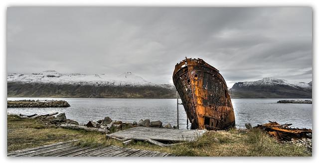 Djupavik - old ship