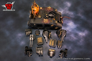 Hellforged Landraider Hades Diabolus Magnetized 0439-01