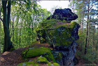 Felsgebilde am Steinberg bei Schönau