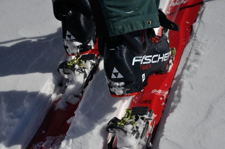 Recenze skialpových bot Fischer Travers