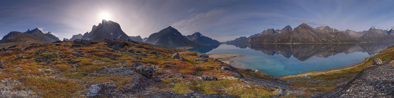 Fjord panorama - Tasermiut