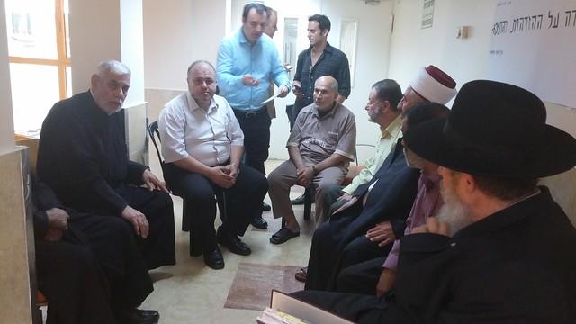 Israel-2015-08-08-Interfaith Forum Visits Terror Victims, Condemns Terrorism