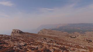 Limestone terrain panoramic