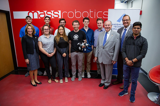 Lt. Governor Polito visits MassRobotics
