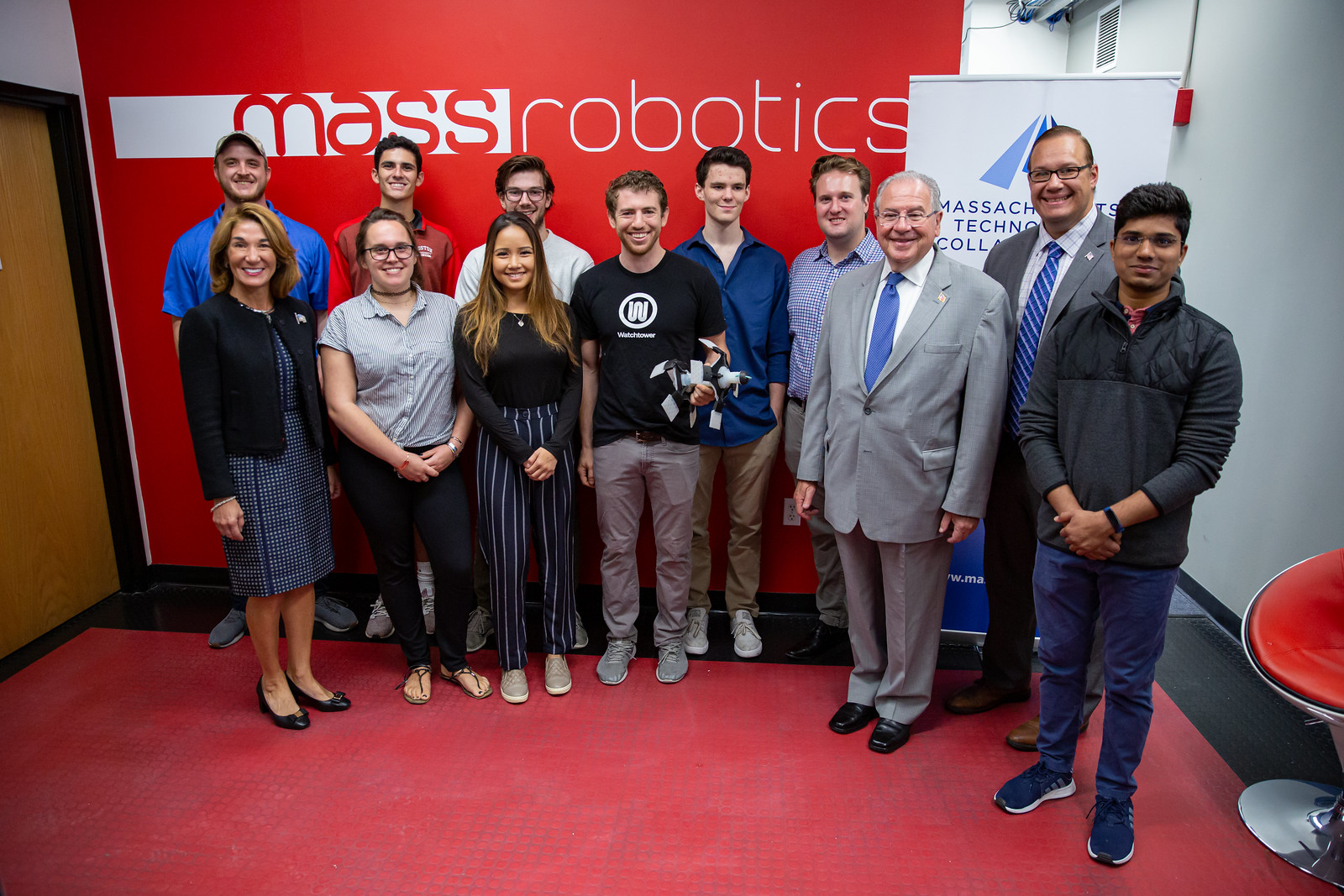 Lt. Governor Polito visits MassRobotics | by Office of Governor Baker