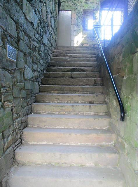 Internal Staircase, MacLellan's Castle, Kirkcudbright