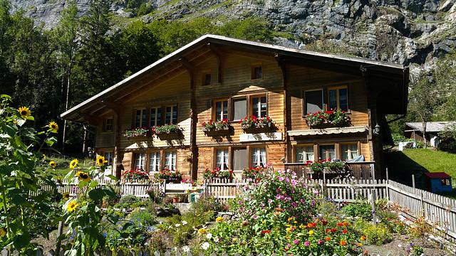 Swiss Farmer House Lauterbrunnen