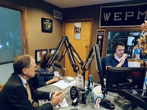 Dr. Murphy In-studio with WEPM