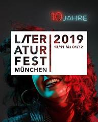 Noch ist´s etwas hin bis zum #litmuc19, aber das 10. Literaturfest klopft morgen schon mal ganz laut an im herbstlichen München: Wir stellen bei der Pressekonferenz im Literaturhaus München mit unserem Kurator Ingo Schulze das Programm 2019 vor und eröffn