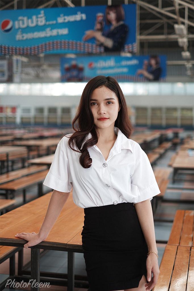 ภาพถ่ายชุดนักศึกษา กล้อง Fujifilm X-A7 เลนส์ 35 f1.4