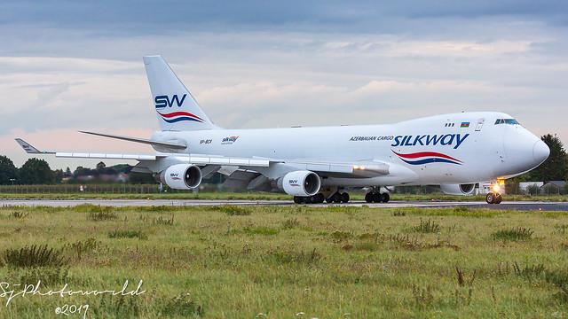 Silk Way West Airlines Boeing B747-4F VP-BCV