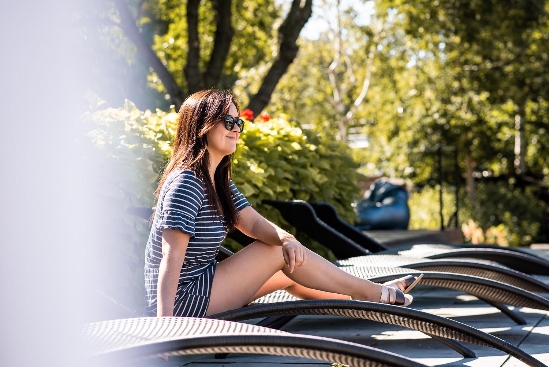 marie-chloé falardeau bota bota lunettes soleil