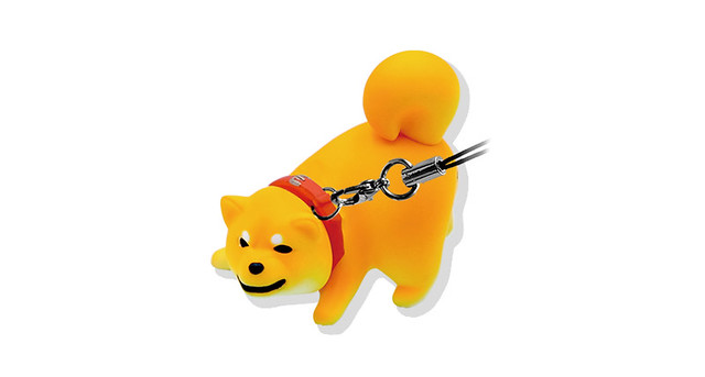 就是不想回家不想動!Qualia「拒否犬吊飾 3」任性登場!(拒否犬ストラップ3)