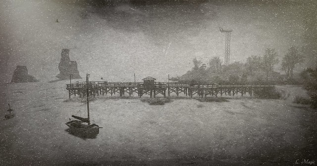 Wharf (Afflatus Exhibit - Edge Art Gallery)