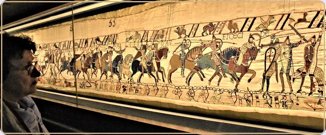 The Bayeux Tapestry, a unique artefact created in the 11th century (1)