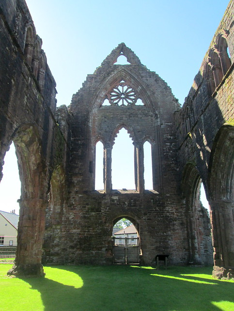 Sweetheart Abbey Interior