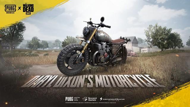 Daryl's Motorcycle_TWD_PUBGM-EN