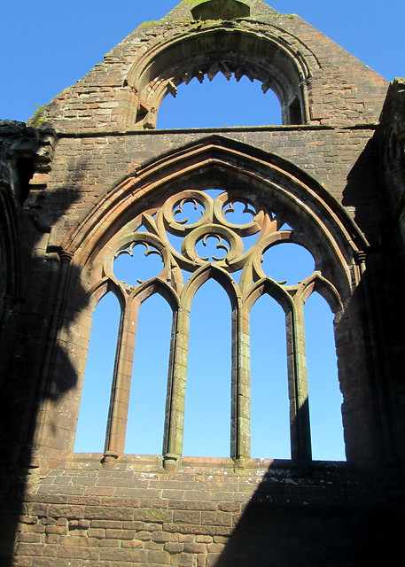 Sweetheart Abbey, Window