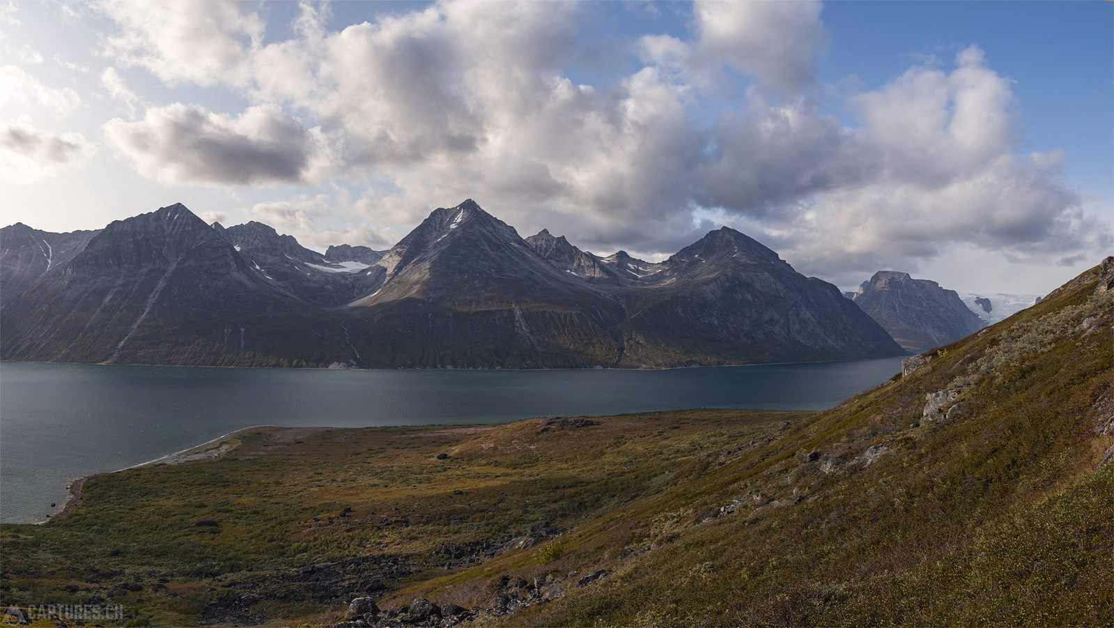 View in the Tasermiut Fjord - Tasermiut