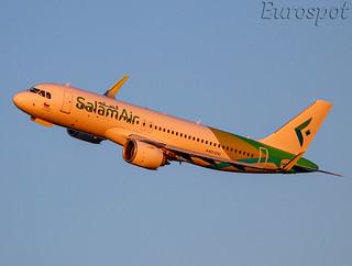 A4O-OVI Airbus A320 Neo Salam Air