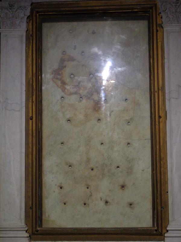 030-плита, на котобой было положено тело св. Лаврентия