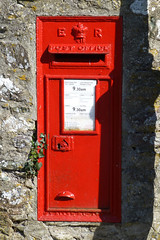 Edward VII wall box, St. David`s. SA62.