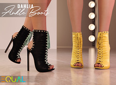 EQUAL - Dahlia Ankle Boots