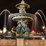 Fontaine des mers – Place de la Concorde – Paris