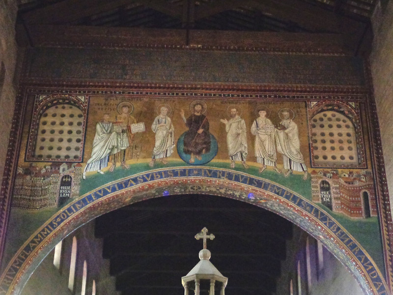 020-мозаика в триумфальной арке